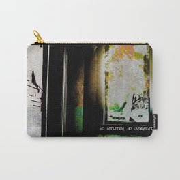 No Intuition, No Judgment Carry-All Pouch