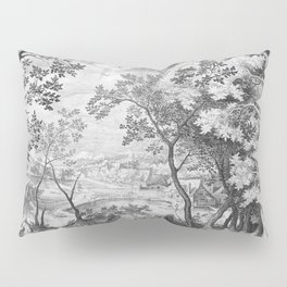 Landscape with Judah and Tamar Pillow Sham