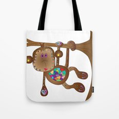 Monkey of the Day Tote Bag