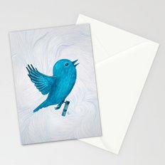 The Original Twitter - Painting Stationery Cards