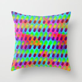 Raindrop 05 Throw Pillow