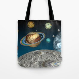 To The Moon And Beyond Tote Bag