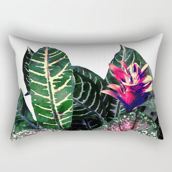 Tropical Theme 1 Rectangular Pillow