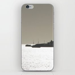 Silver harbor iPhone Skin