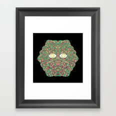 Tree Man Cosmic Serpents Codex Framed Art Print