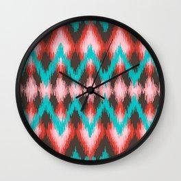 Pattern Native American Wall Clock