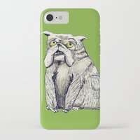 bulldog iPhone & iPod Cases featuring Bulldog by EstherSepers