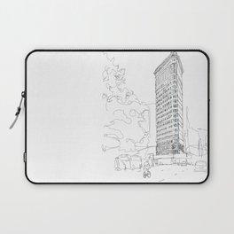 Flat Iron Building Laptop Sleeve