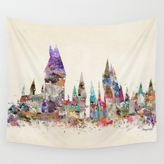 hogwarts school of magic Wall Tapestry