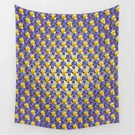 Tulip and Iris Wall Tapestry