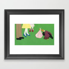 Welcome, Baby Framed Art Print