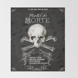 Motel de Morte Throw Blanket