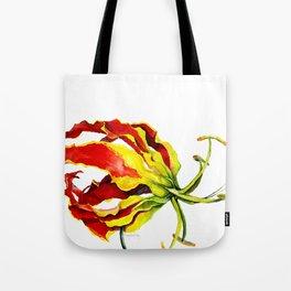 Gloriosa Lily Tote Bag