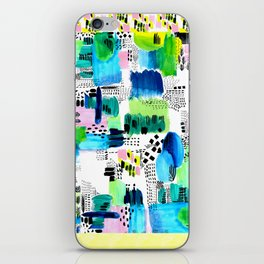 Playful Collage iPhone Skin