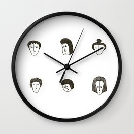 The small faces Wall Clock