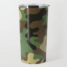 Classic Camouflage Pattern Travel Mug