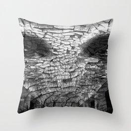Surreal Gorilla into shadows Throw Pillow