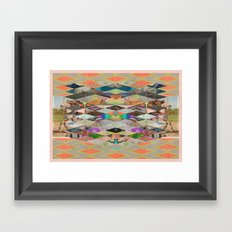 RHOMBOID SEX Framed Art Print