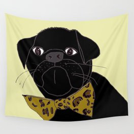 Jasper is in your Closet, Wearing your Leopard-Print Bow tie Wall Tapestry