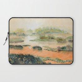 Egret On The Marsh Laptop Sleeve