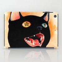 satan iPad Cases featuring Not Today, Satan! by Felicia Chiao