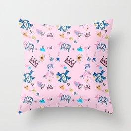 BB BABAY Throw Pillow