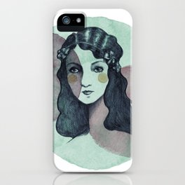 Vintage Girl iPhone Case