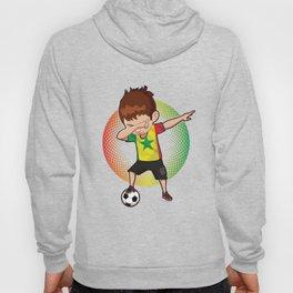 Football Dab Senegal Senegalese Footballer Dabbing Rugby Goal Soccer Gift Hoody