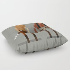 Brains and Brawn Floor Pillow