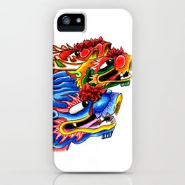 Dragons boats iPhone Case