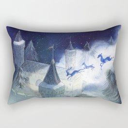 December's Tale Rectangular Pillow