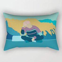 Spring Day - Jimin BTS Rectangular Pillow
