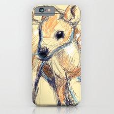 Wobbly Deer iPhone 6s Slim Case