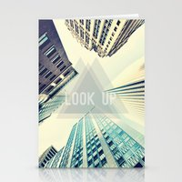 buildings Stationery Cards featuring Buildings by Sofia Tirronen
