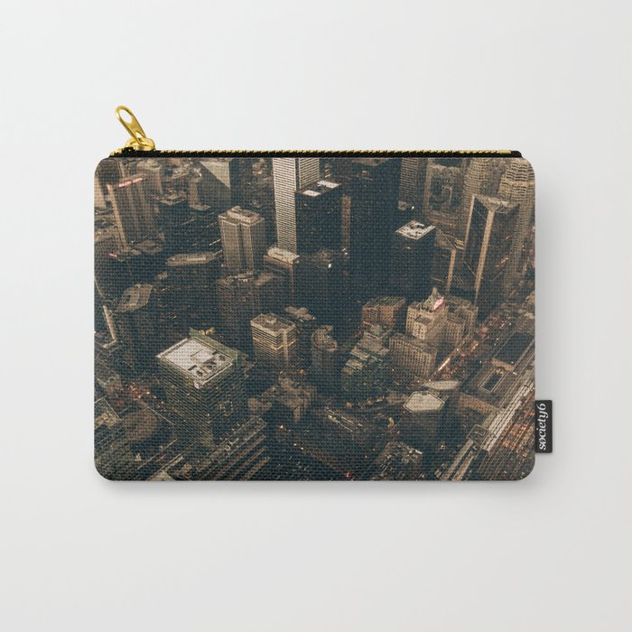 NYC from above - Ariel Image Carry-All Pouch