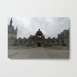 Parisian Castle Metal Print