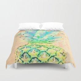 Pastel Pineapple Duvet Cover