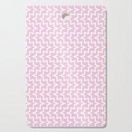 Sea Urchin - Light Pink & White #320 Cutting Board