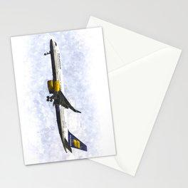 Icelandair Boeing 757 Art Stationery Cards