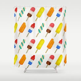 Popsicle Collection Shower Curtain