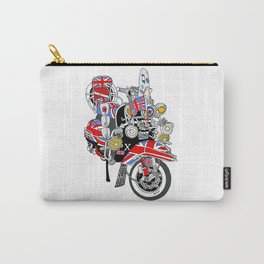Union Jack Mods Bike Carry-All Pouch
