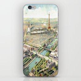 Paris World Fair 1900 iPhone Skin