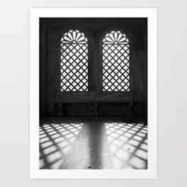 Art of light Art Print