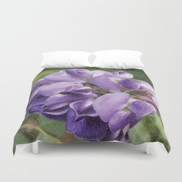 Wisteria Flower paint like Duvet Cover