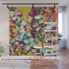 Painted Lilacs Wall Mural