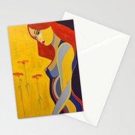 Pelirroja Stationery Cards