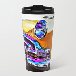 1951 Yellow Hudson Hornet Travel Mug