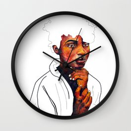 Honor the space you are in Wall Clock