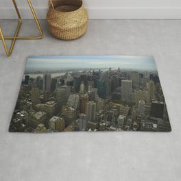 Bird's Eye Time Square Rug