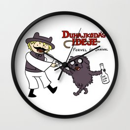 Duhajkodás ideje Wall Clock